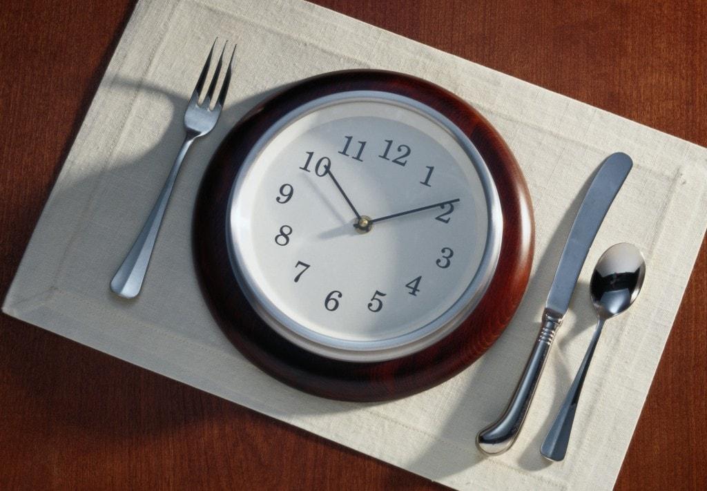 Cel mai bun timp pentru consumul produselor alimentare